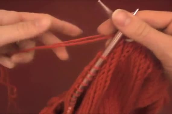 Knit-in-join