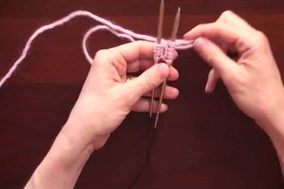 Using Double Pointed Needles To Knit In The Round : Magic loop knittinghelp