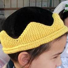 Knit-crown
