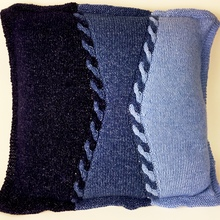 Jeans_cable_knit_floor_pillow_hooked_for_life