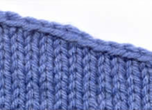Sloped Bind-Off