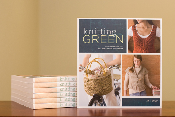 Interweave-knitting-green